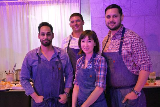 Chef de Cuisine Michael Kahikina & Barrel & Ashes Team