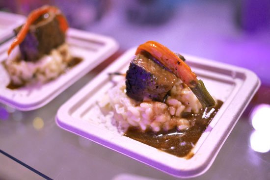 Mushroom Risotto with Braised Short Ribs