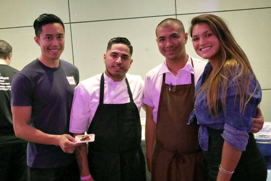Executive Chef Michael Hung & Faith & Flower Team