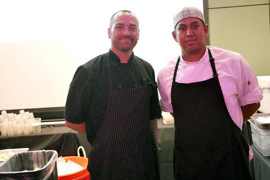 Chef de Cuisine Michael Segerstrom & Little Sister Team