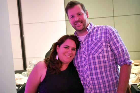 Jessica Mills, Chef Gavin Mills