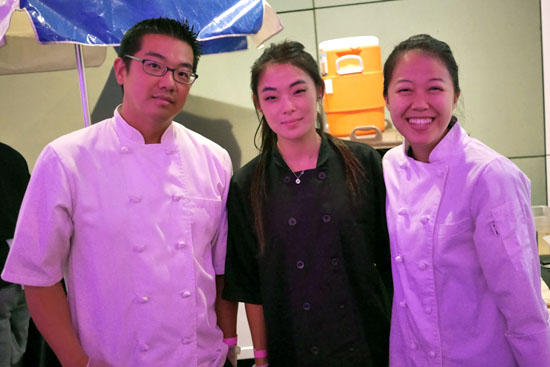 Pastry Chef John Park & Quenelle Team