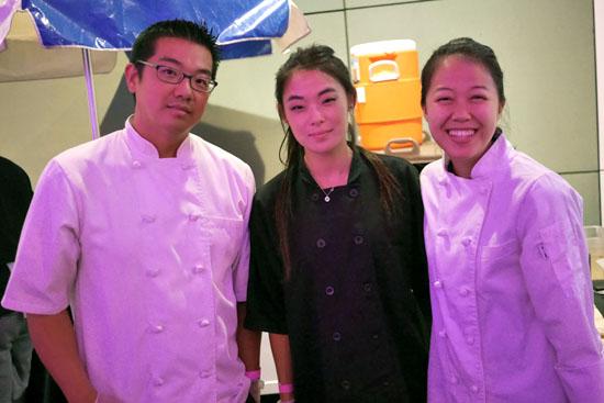 Pastry Chef John Park & Quenelle Team