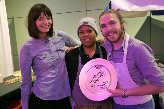 Pastry Chef Margarita Kallas, Executive Chef Phillip Lee & Scratch Bar/Gadarene Swine Team
