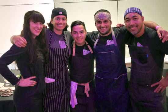 Janie Hayes, Executive Chef Ori Menashe & Bestia Team