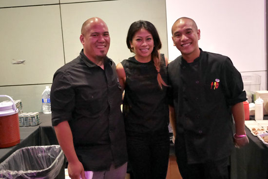GM Ricky Bautista, Chef Johneric Concordia & The Park's Finest Team