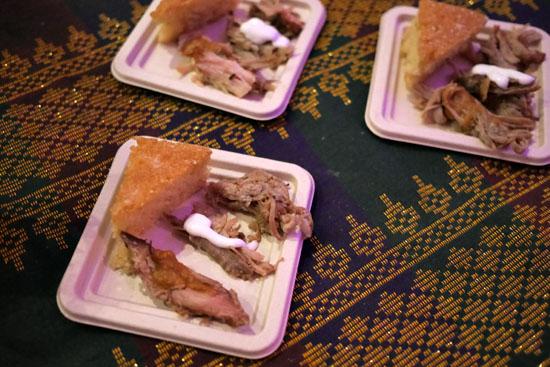 San Pablo Pulled Pork / Ann's Cornbread Bibinka