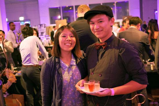 Ryan Trinh & Bird Pick Tea & Herb Team