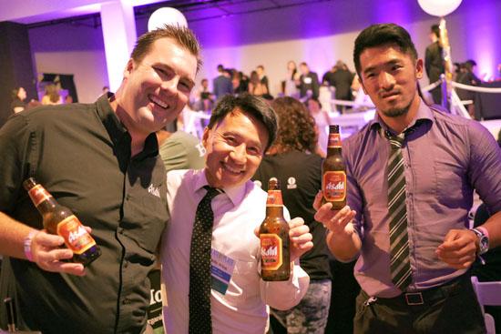 Billy Wing, Taichi Seki & Asahi Team