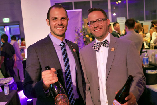 Manager of Sales and Marketing Benjamin Weiss & The Bruery Team