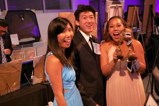 Stella Yuen, Calvin Kwan, Marilyn Tran