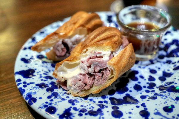 French dip eclair