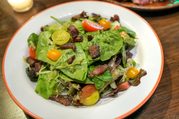 Bacon & Cherry Tomato Salad