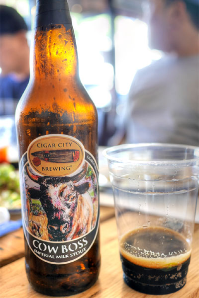 2015 Cigar City Cow Boss