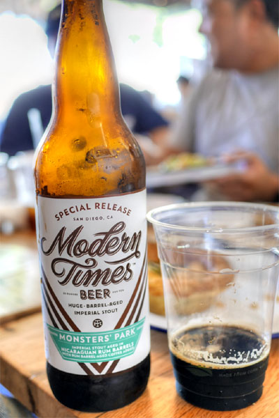2015 Modern Times Monsters' Park Aged in Nicaraguan Rum Barrels with Rum Barrel-Aged Coffee