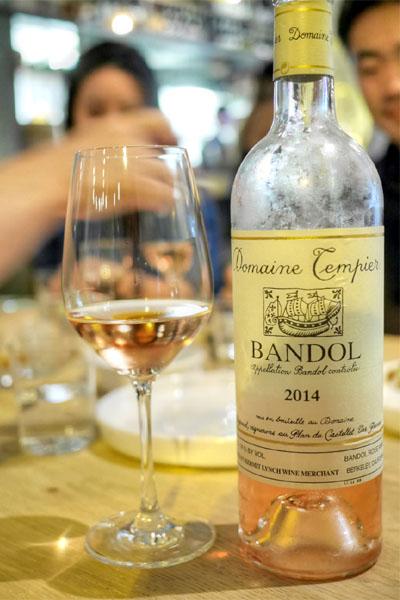 2014 Domaine Tempier Bandol Rosé