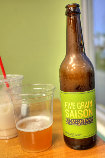 2015 Cismontane 5th Anniversary 5 Grain Saison