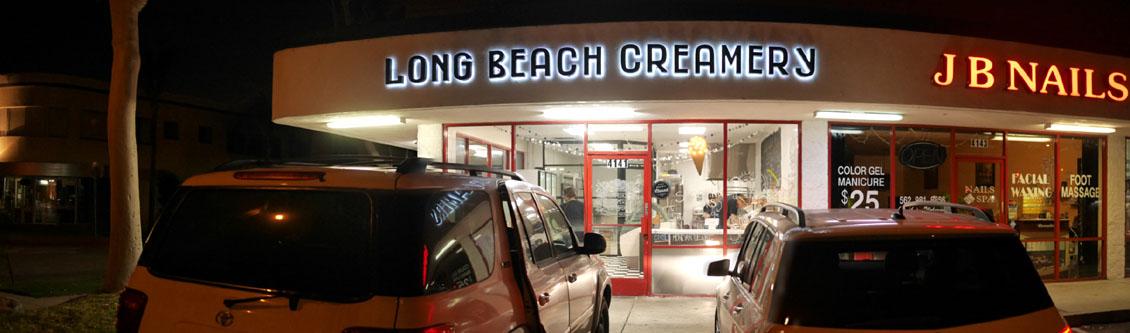 Long Beach Creamery Exterior