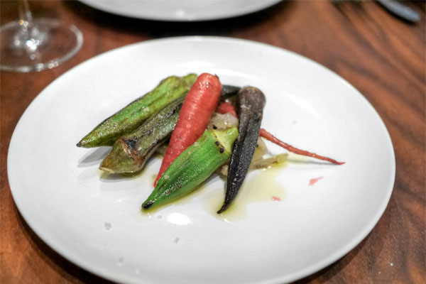 Blistered Okra, Pickles