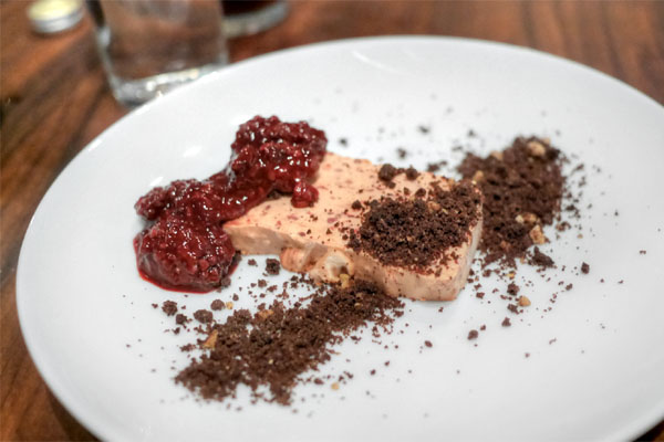 Raspberry Semifreddo, Cookie Dust