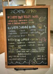 Ocean Market Grill Combos