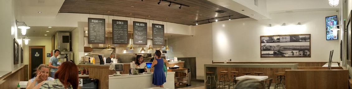 Ocean Market Grill Interior