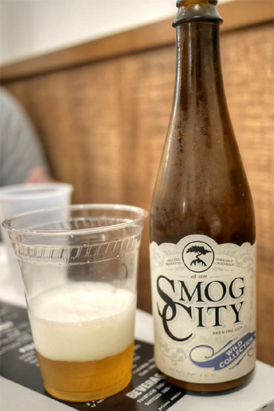 2015 Smog City Steamfunk Brett IPA