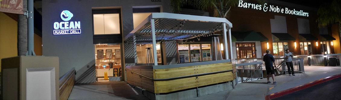 Ocean Market Grill Exterior