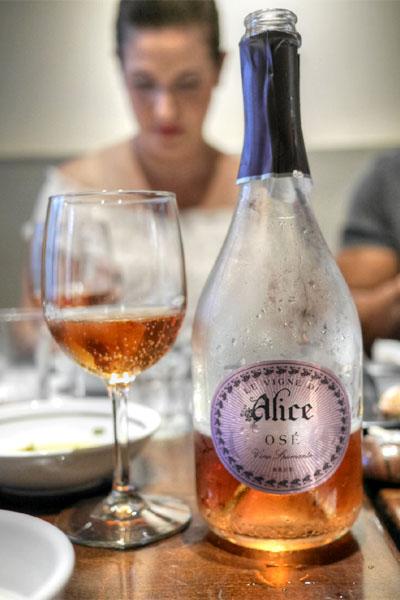 NV Le Vigne di Alice Osé Vino Spumante Brut Rosato