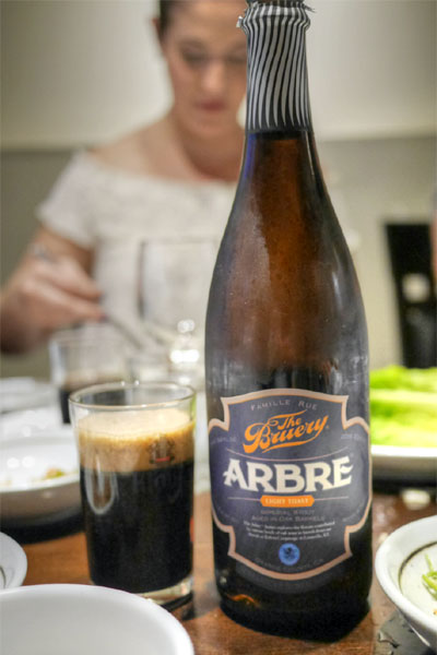 2015 The Bruery Arbre Light Toast
