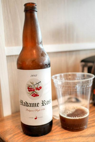 2012 Goose Island Madame Rose