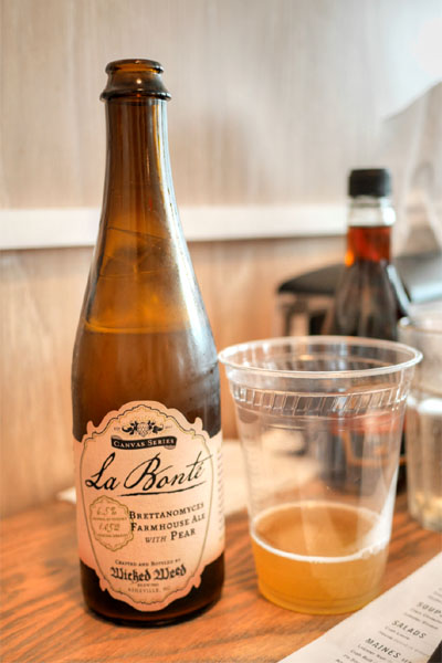 2015 Wicked Weed Canvas Series: La Bonte Pear