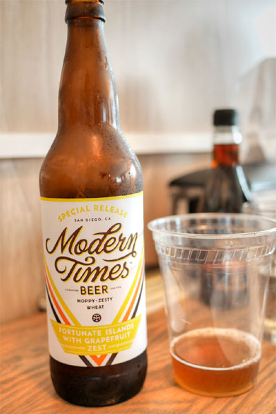 2015 Modern Times Fortunate Islands with Grapefruit Zest