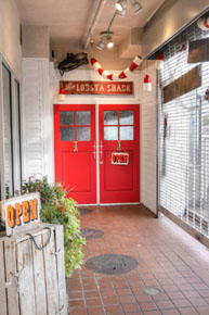 Lobsta Shack Entrance