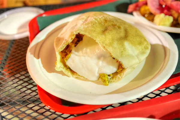 Chicken Shawerma Pita Pocket