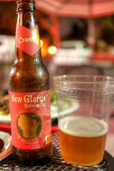 BEER 2014 New Glarus Thumbprint Cran-Bic