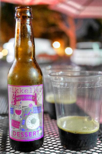 Mikkeller Beer Geek Dessert