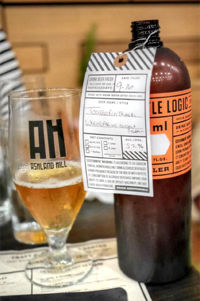 2015 Bottle Logic Toasted in Tahiti