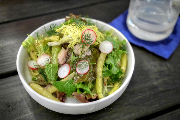 'Token' Frenchie Salad