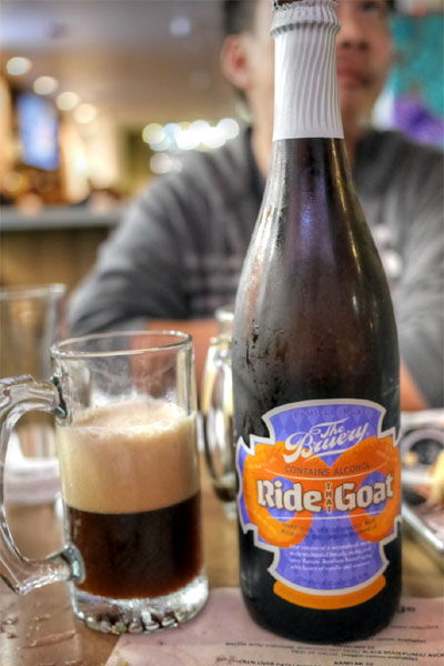 2015 The Bruery Ride That Goat