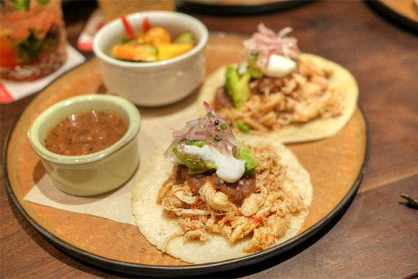 Chicken & Charred Tomato Tinga