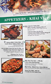Garlic & Chives Menu: Appetizers - Khai Vi