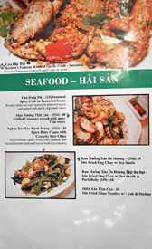 Garlic & Chives Menu: Seafood - Hai San