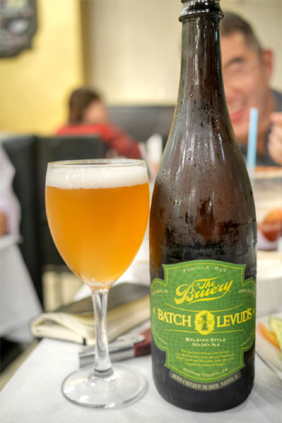 2015 The Bruery Levud's