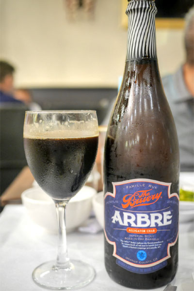 2015 The Bruery Arbre Alligator Char