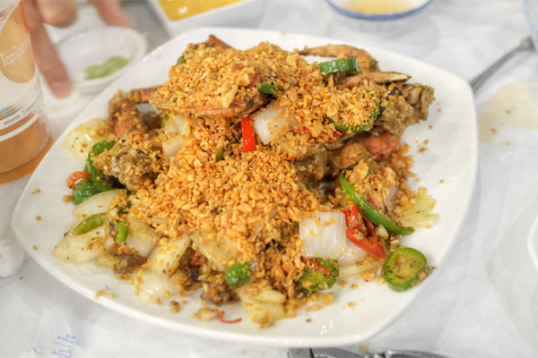 Cua Dac Biet - Kristin's Famous Roasted Garlic Crab (Half)