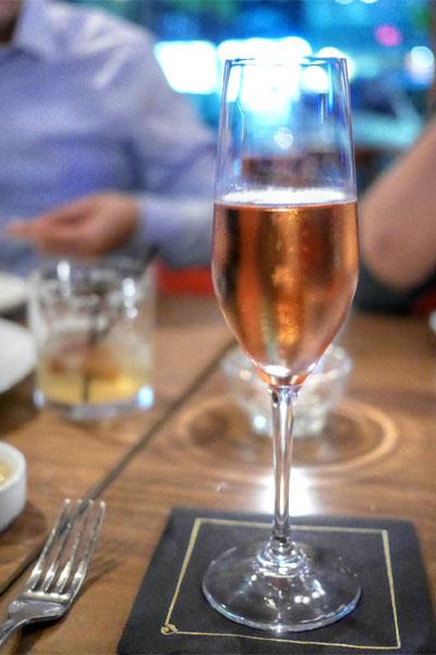 NV Camille Savès 'Montagne de Reims' Rosé Brut Grand Cru, Champagne, France