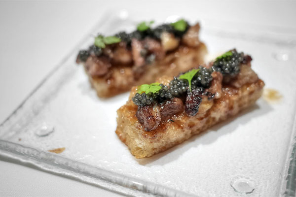 Bone Marrow Crostini