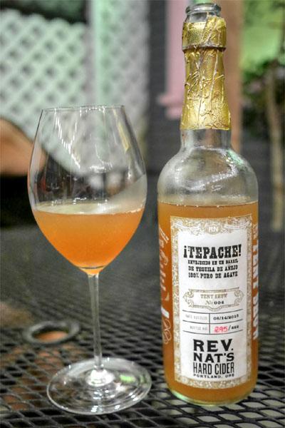2015 Reverend Nat's Tequila Barrel Aged Tepache