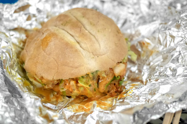 Spicy Pork Torta
